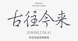 庞中华硬笔字体字体