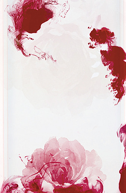 红色水墨花梦幻H5图片素材