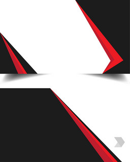 几何商务简约创意名片