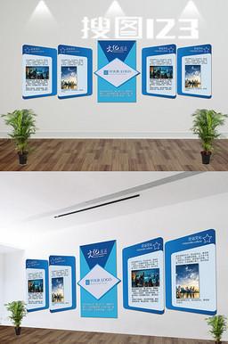 文化历程展板企业文化墙