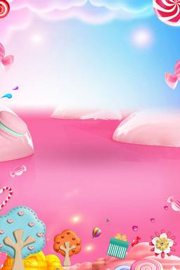 甜蜜糖果创意海报设计