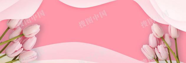 感恩节郁金香banner