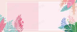 淘寶天貓春季上新手繪花卉植物海報