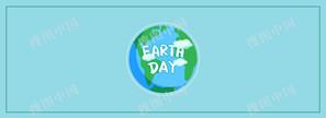 世界地球日公益环保banner