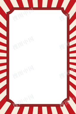 扁平风51劳动节边框背景