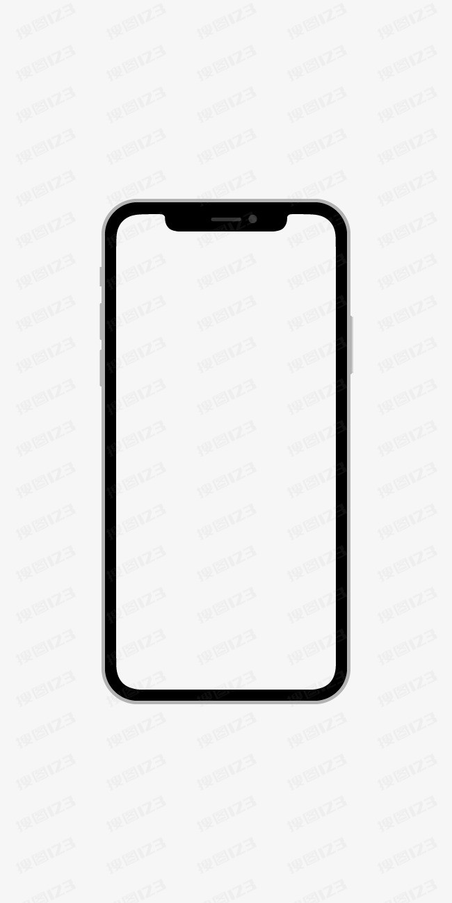 iphoneX原型图