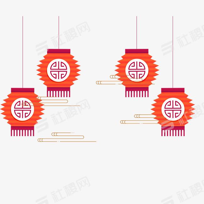 创意中国风装饰灯笼设计