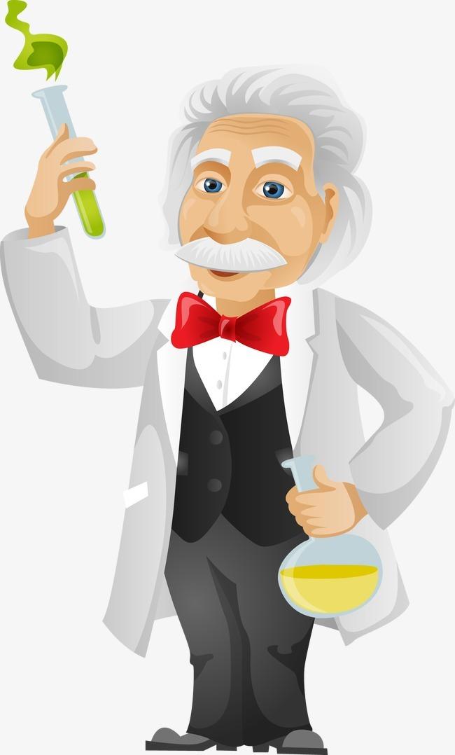 搜图123提供独家原创科学家老人 化学实验 卡通男人 科学家 科学实验图片