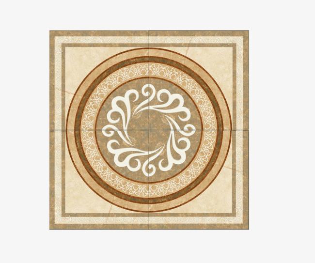 欧式花纹 圆形 纹理瓷砖