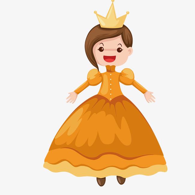 卡通小公主图片
