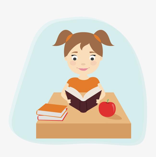 搜图123提供独家原创矢量卡通女孩看书下载,此素材图片已被下载0次,被图片