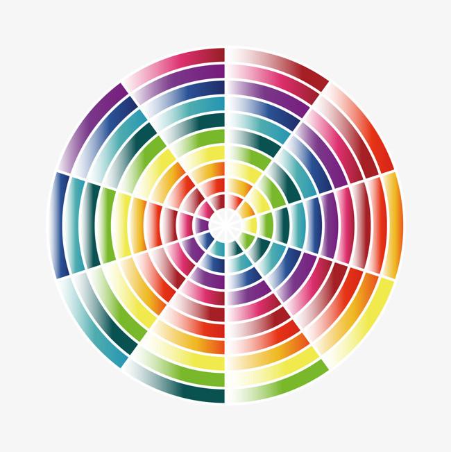 平面设计  潮流元素设计 缤纷 彩虹色 抽象 创意 平面构成 色彩 矢量图片