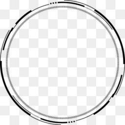 水墨ps水墨竹子科技感几何圈圈