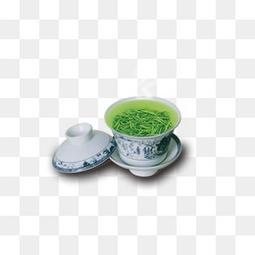 茶叶和茶杯