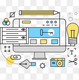 网页设计流程图.