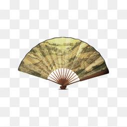 清明上河图中国风扇子装饰