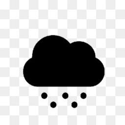 天气雪图标