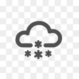 大雪天气预报标志图标
