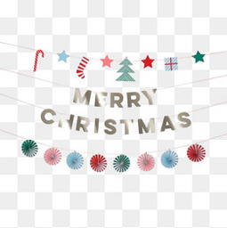 圣诞快乐字体装饰