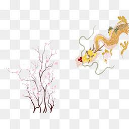 矢量龙与树