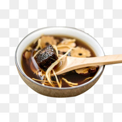 姜丝红糖糖水素材
