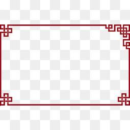 中國風邊框