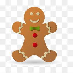 创意圣诞节的姜饼设计