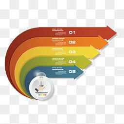彩色的ppt表格设计