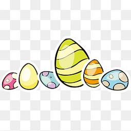 复活节卡通彩蛋设计