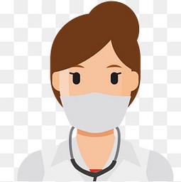 戴口罩的医生设计