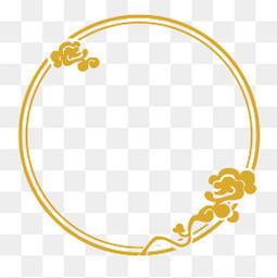 手绘中国风剪纸边框