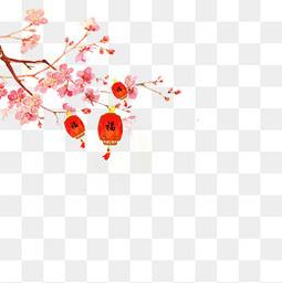 八月十五中秋佳节古风灯笼唯美插画免费下载
