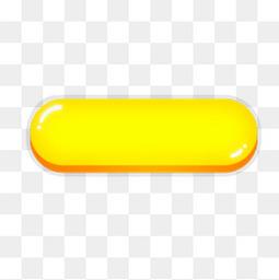 黄色水晶按钮