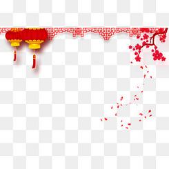 中国风背景边框