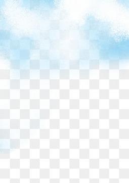 水彩蓝天白云