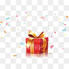 节日礼物矢量图
