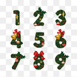 圣诞节的数字设计