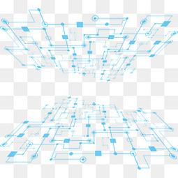 科技网格背景
