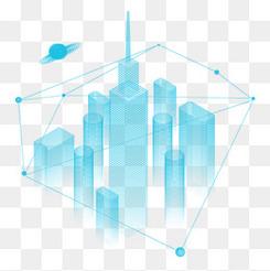 蓝色科技城市中国国际进口博览会