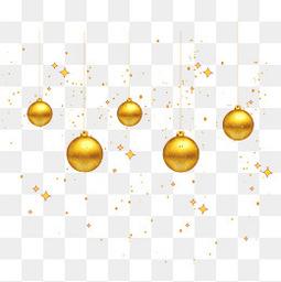 矢量金色圣诞装饰图案