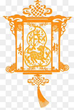 窗花灯笼图案设计