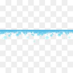 白色圣诞节雪花边框