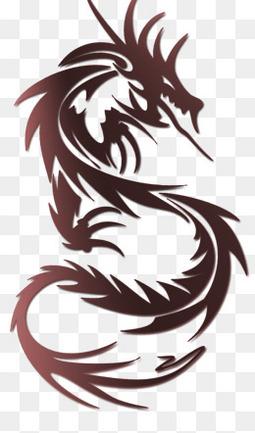 龙纹身图片