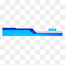 蓝色抽象几何科技线条
