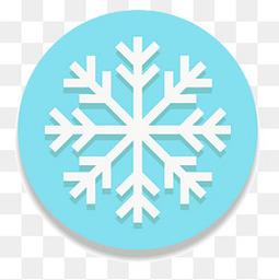 圣诞节的雪花标签设计