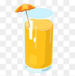 手繪夏日清涼果汁