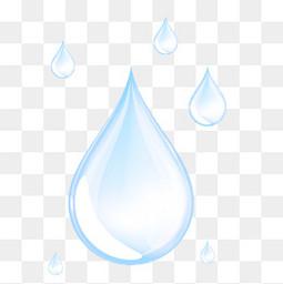 藍色水滴矢量圖