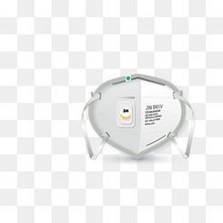 N95口罩矢量免扣素材