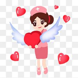 可爱护士爱心天使