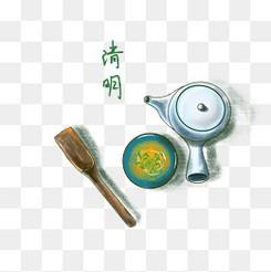 二十四節氣清明茶龍井